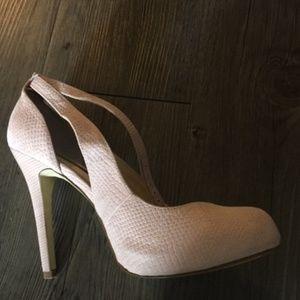 I-N-C Pink High Heels